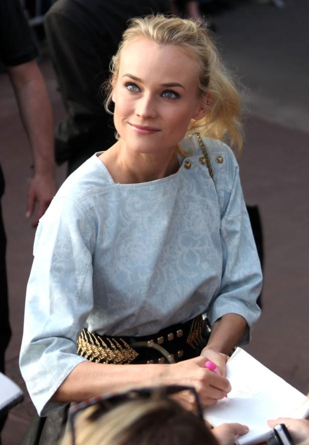la-modella-mafia-Best-Dressed-Fashion-at-Cannes-2012-Film-Festival-Diane-Kruger-in-Balmain-at-Le-Grand-Journal-during-Cannes-1