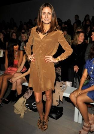Olivia-Palermo-wears-Reiss-shirt-dress