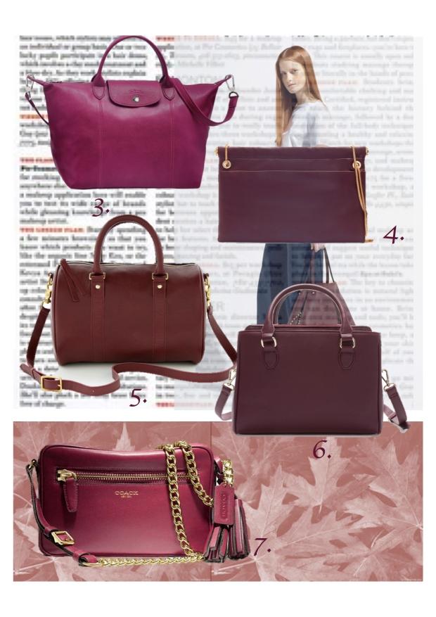 burgundy bags heelsandpeplum 2