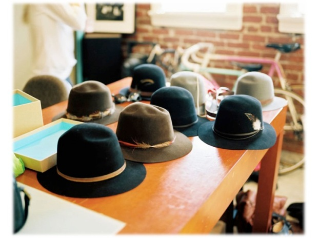 Janessa Leone hats 2