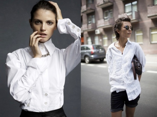 white shirt heelsandpeplum 5