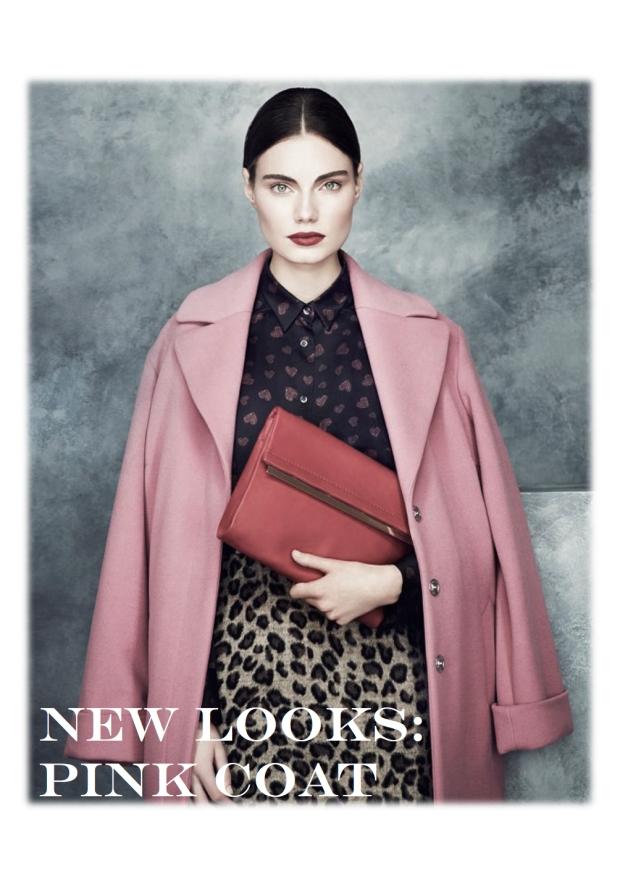 pink coats looks 1