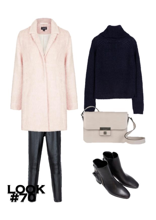 pink coats looks 2