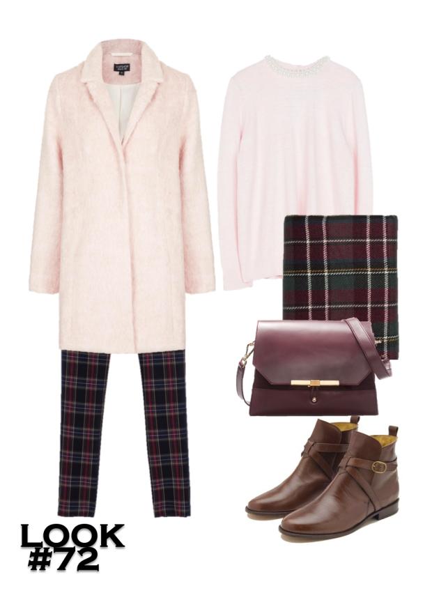 pink coats looks 4