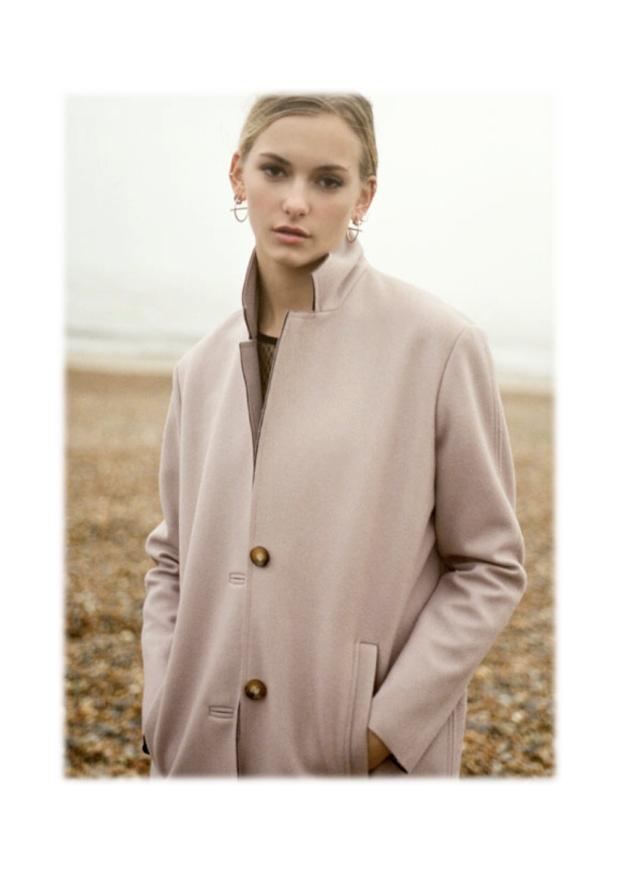 pink coats looks 5
