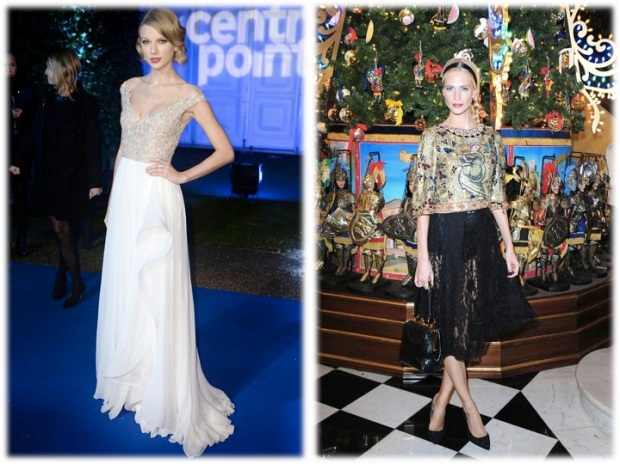 tailor swift poppy delevigne dolce gabbana