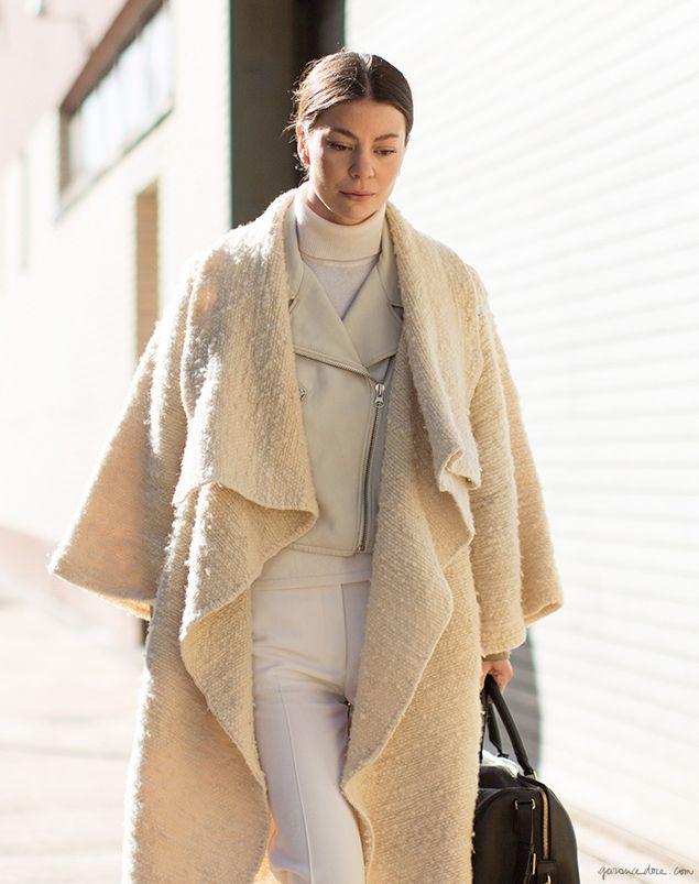 garance dore layers white cream fashion street-style photography