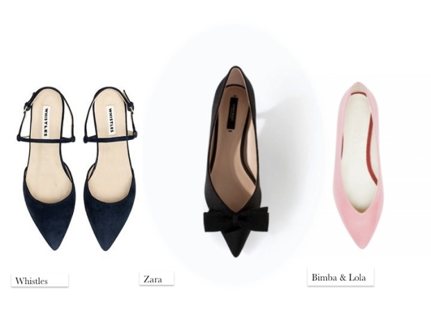 flats cute fashion whistles zara bimba & lola pink SS14 fashion