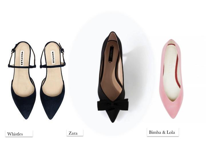 flats cute fashion whistles zara bimba & lola pink SS14 fashion