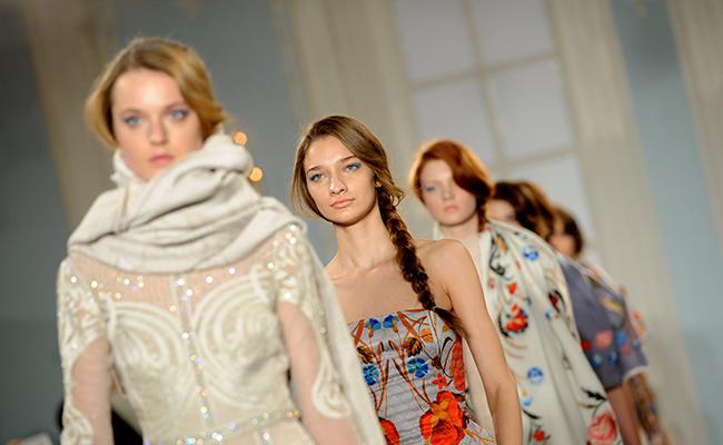 Temperley Catwalk - London Fashion Week 2014