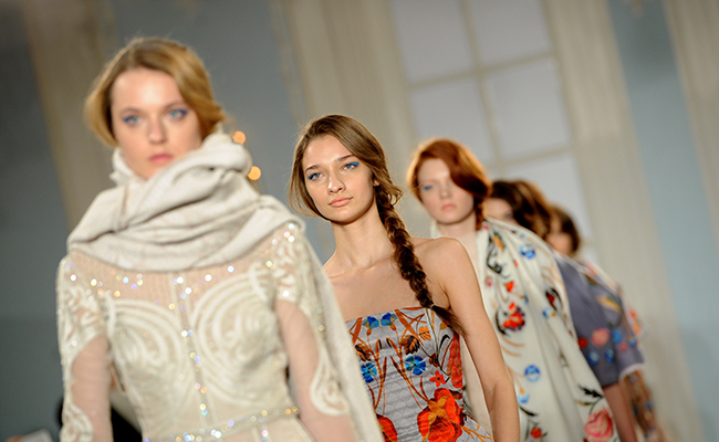 Temperley Catwalk - London Fashion Week 2014