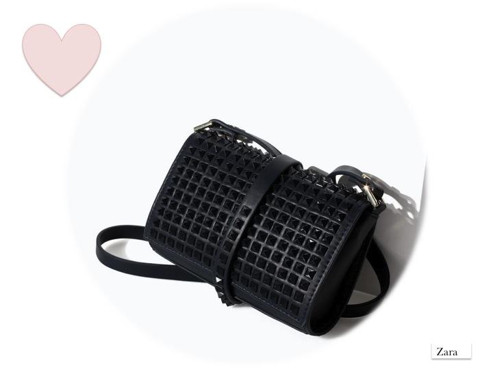 studded bag SS14 Zara Valentino inspiration moda
