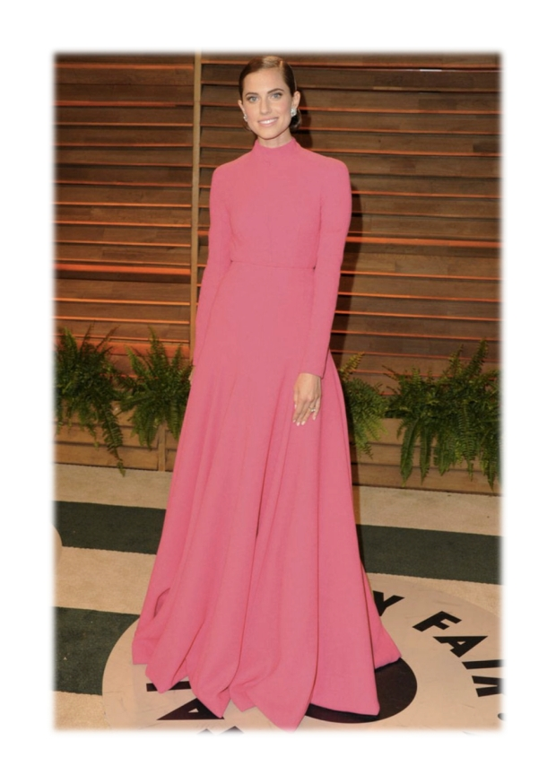 alison williams wearing emilia wickstead