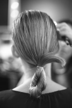 chloé fw14 backstage hair makeup heelsandpeplum fashion