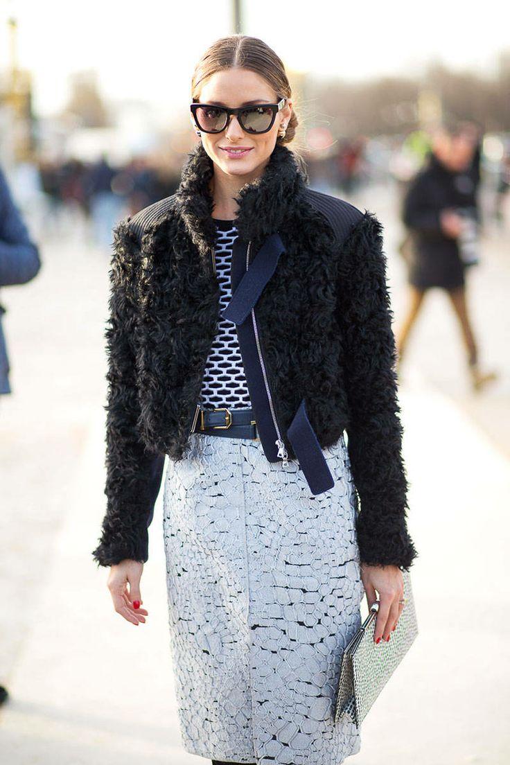Olivia Palermo Street Style Paris Fashion Week Fall 2014 Paris Fashion Week Fall Street Style