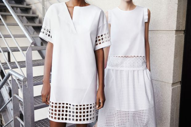 sara new season ss14 white cookbook fashion heelsandpeplum