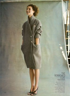 coat grey elegance simplicity fashion