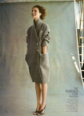 coat grey elegance simplicity fashion