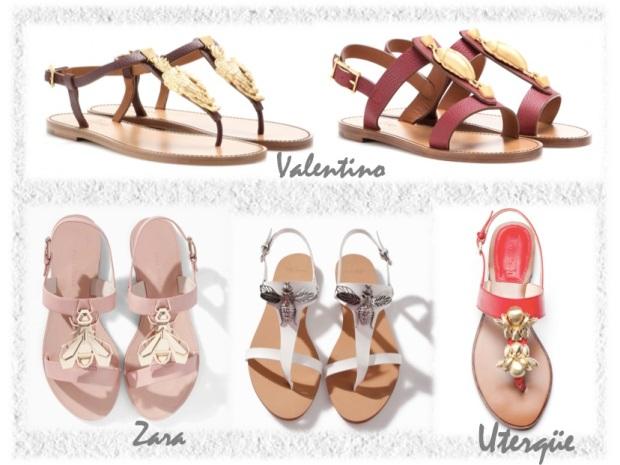 golden scarab sandals valentino trend similar sandals uterqüe zara