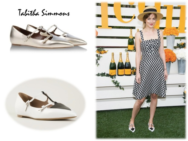 Dakota Johnson Tabitha Simmons flats