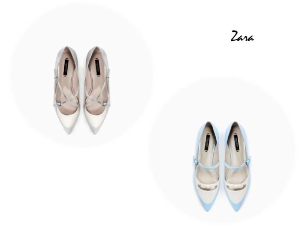 Zara clon Tabitha Simmons flats