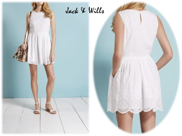 Jack & Wills embroidered dress