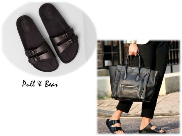 Pull & Bear birkenstock fashion trend