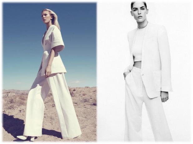 harpers bazaar white color fashion