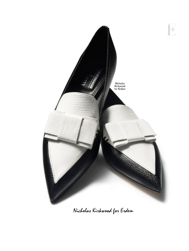 Nicholas Kirwood pointy loafers for Erdem The Edit Net a Porter