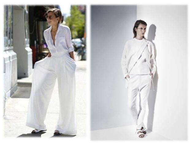 harpers bazaar white color fashion heelsandpeplum