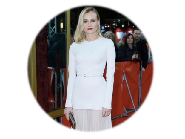 harpers bazaar white color fashion heelsandpeplum fashion editorials inspiration diane kruger