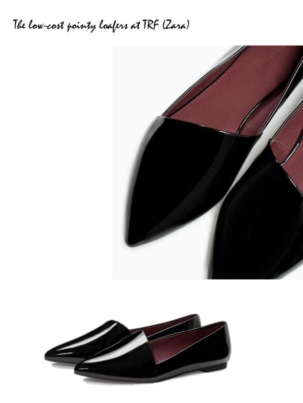 Pointy Loafers trend fall 2014 Nicholas Kirwood Céline Miu Miu jimmy Choo TRF