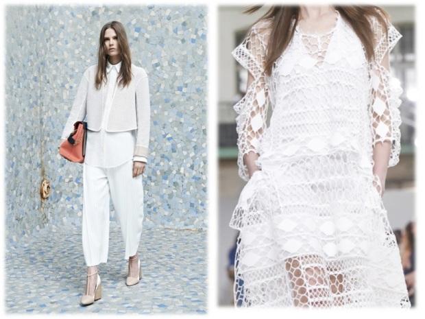 harpers bazaar white color fashion heelsandpeplum fashion editorials inspiration chloé ss14