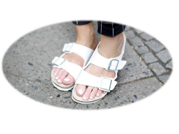 harpers bazaar white color fashion heelsandpeplum fashion editorials inspiration birkenstock