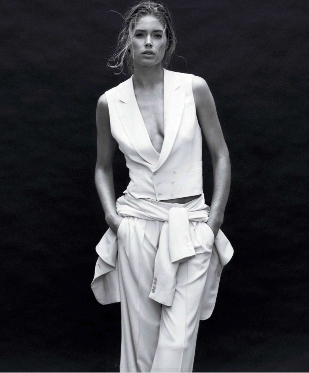 Doutzen Kroes - White PS for Harpers Bazaar US March 2012 issue-06