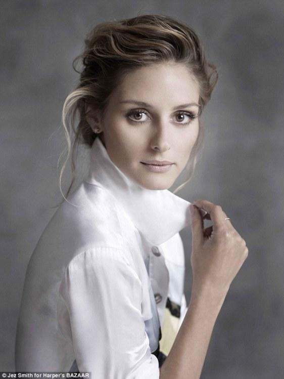 Olivia Palermo Harper's Bazaar Australia november  Jez Smith
