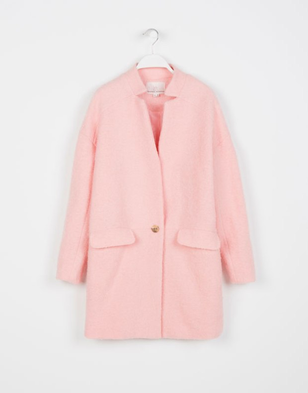 pink coat lefties