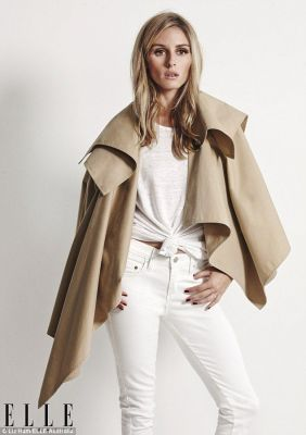 camel and white street style
