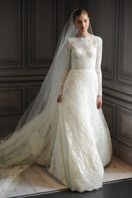 Monique-Lhuillier wedding dress