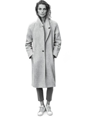 Daria Werwoby coat Mango