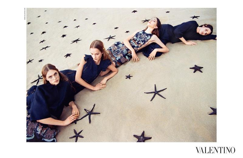 Hedvig Palm & Grace Simmons for Valentino Spring / Summer 2015
