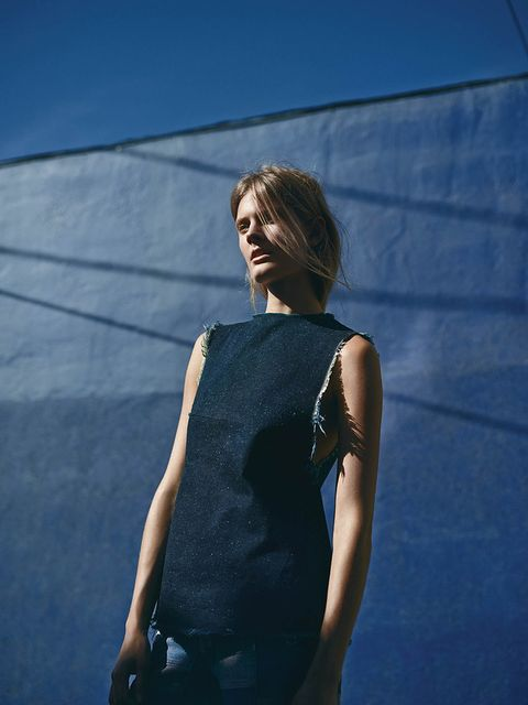 Constance Jablonski by Annemarieke van Drimmelen for WSJ Magazine February 2015