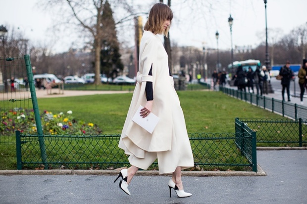 Anya Ziourova Céline PFW Spring 2015 Couture