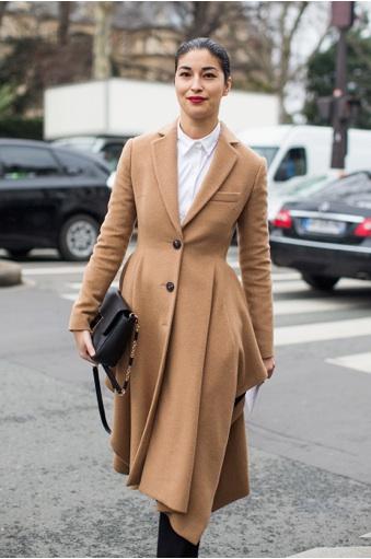 Paris Fashion Week 2015 streetstyle Haute Couture PFW Dior Caroline Issa
