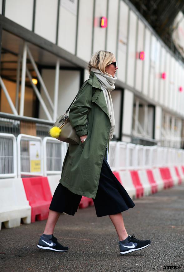 GREENPARKA streetstyle london fashion week_lfw