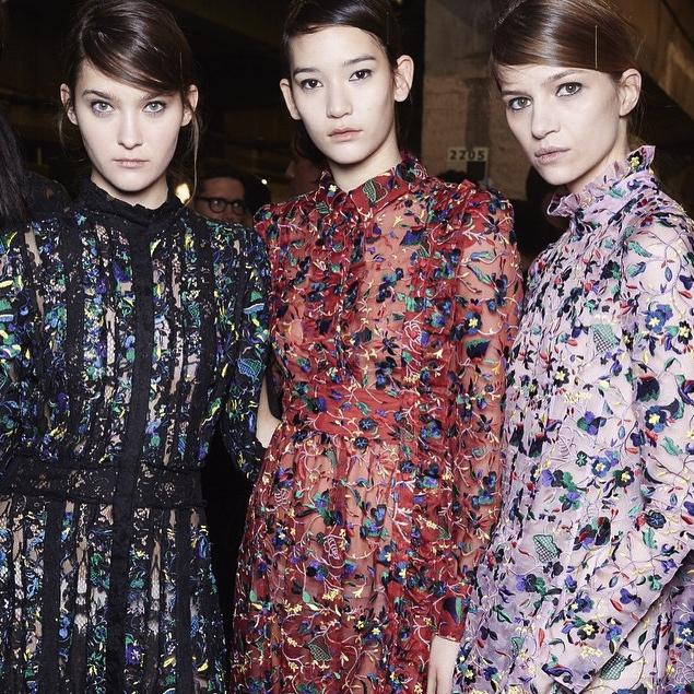 Erden Runway Fall 2015 London Fashion Week