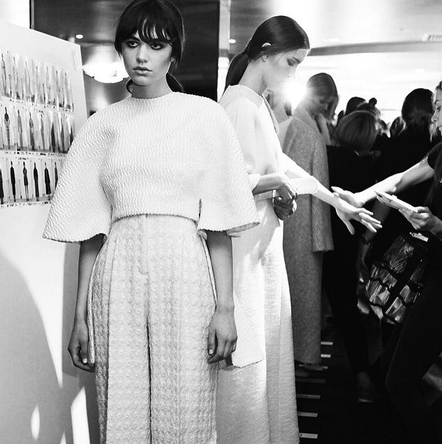 Emilia Wickstead Fall 2015 London Fashion Week