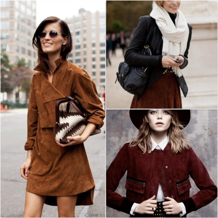Trend alert fashion suede 15 heelsandpeplum inspiration street style