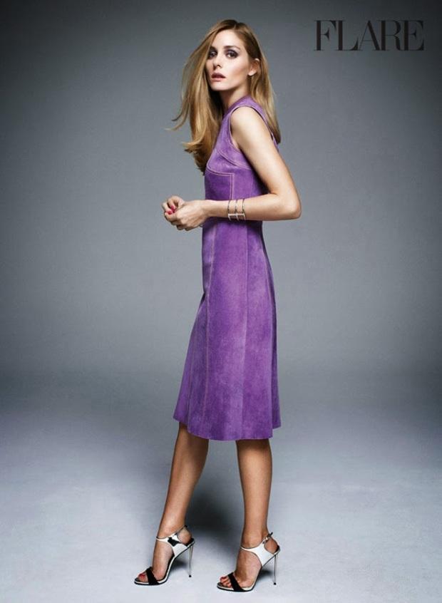 olivia palermo cover suede dress inspiration trend heelsandpeplum