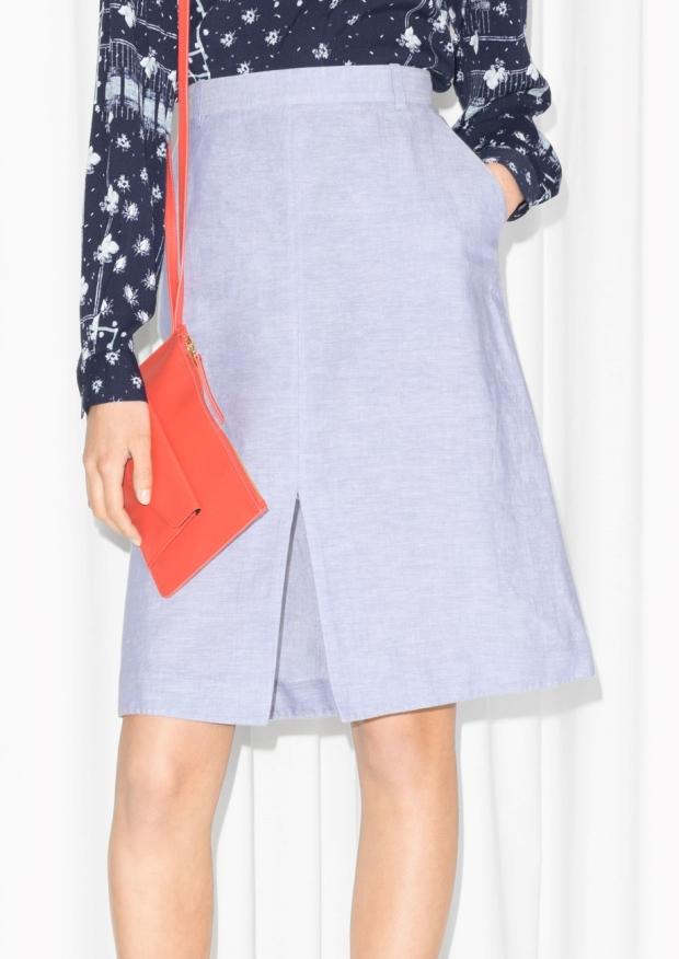 skirt linen & other stories
